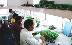 PCB manufacturing & assembly facility